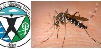 DSP Bihor țânțari