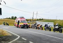 accident motocicleta Sinteu