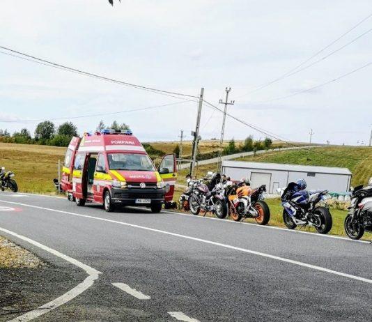 accident motocicleta Sinteu