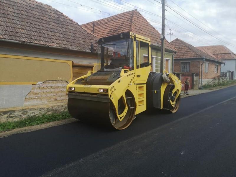 asfaltare Alesd- Aștileu