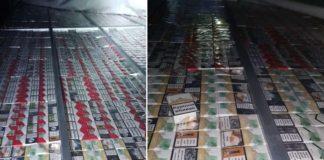 ţigări de contrabandă, descoperite ascunse într-o autoutilitară în Vama Borș