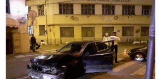 Accident în centrul Oradiei