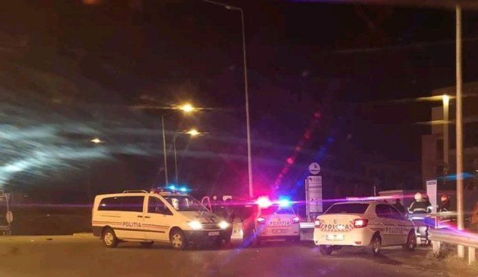 fără permis şi băut a furat o maşină şi a lovit un polițist