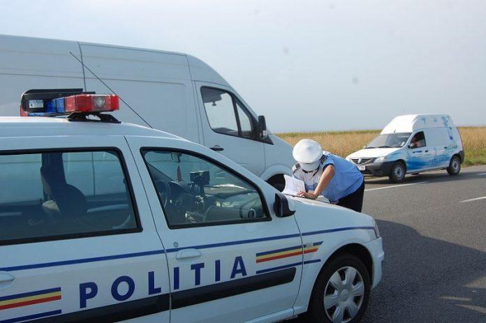 poliția rutieră radar