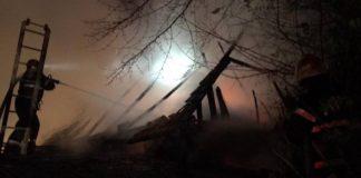 incendiu la o gospodărie situată în localitatea Meziad
