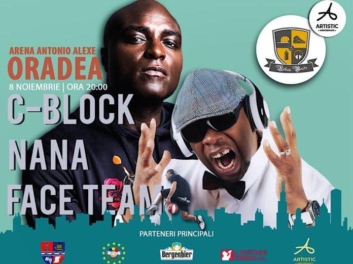 Nana și C-Block la Oradea