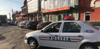 Mașina poliției Aleșd