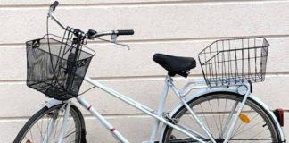 Bicicletă găsită în orașul Aleșd