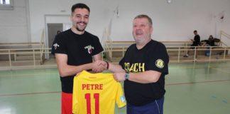 Internaționalul de tineret Adrian Petre