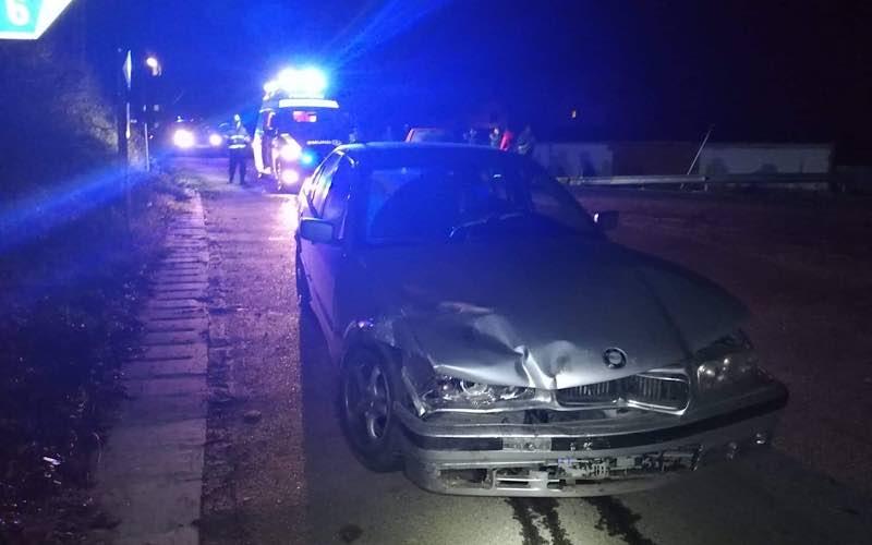 accident între două mașini la Vârciorog 1