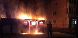 Incendiu tomberoane Aleșd
