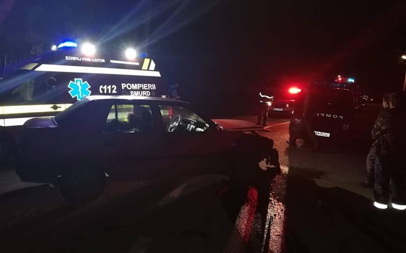 accident între două mașini la Vârciorog 3