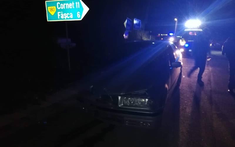 accident între două mașini la Vârciorog 2