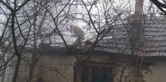 Incendiu acoperiș casa Aleșd