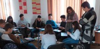 Elevii colegiului tehnic Alexandru Roman din Aleșd