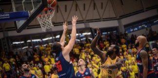 CSM CSU Oradea a câștigat meciul cu BC CSU Sibiu