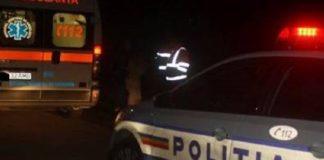 Ambulanță și poliția