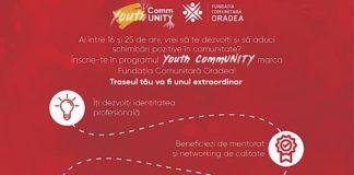 Afiș Youth CommUNITY