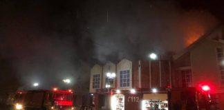 Incendiu la clădirea Primăriei Ștei