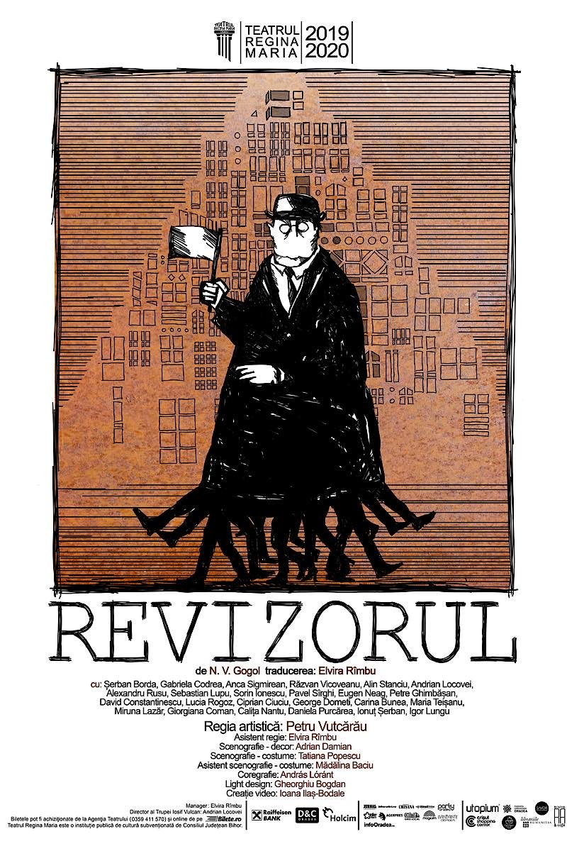 Afiș Revizorul de N.V. Gogol