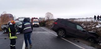 Accident mortal la Huedin