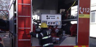 Bărbat rănit grav în urma unui incendiu, resuscitat de echipajul SMURD mobilizat la fața locului