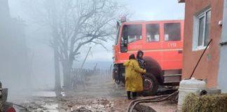 Incendiu la o gospodărie din Șuncuiuș