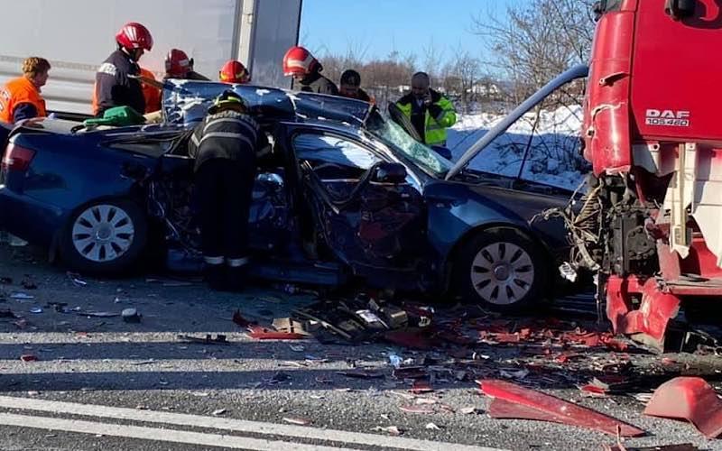 Accident grav între Borod și Cornițel 2