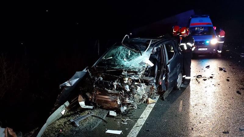Accident grav aproape de Huedin