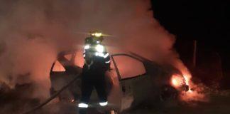 Incendiu la un autoturism, în Picleu