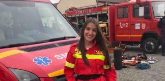 Andreea Mihuţ-cel mai bun voluntar SMURD