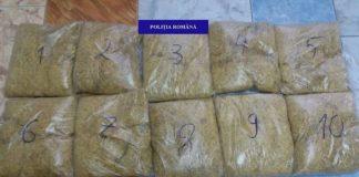 tutun, deținut ilegal, confiscate de polițiști de la un bihorean