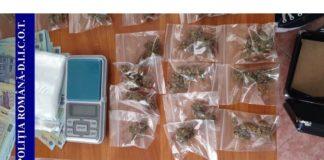 Un bărbat din Popești a fost prins în timp ce încerca să vândă o sută de grame de canabis