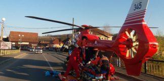 elicopter SMURD Vadu Crisului