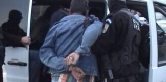 Reținut de polițiști