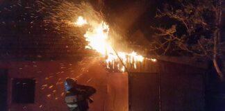 Incendiu la o gospodărie din Răbăgani