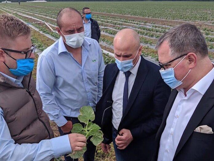 ministrul Agriculturii și Dezvoltării Rurale, Adrian Oros, a efectuat o vizită de lucru în Bihor