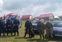 10 militari sprijină dispozitivul de ordine publică din colonia de rromi din Vadu Crișului