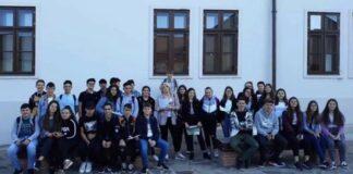 """Final de clasa a VIII-a la Colegiul Tehnic """"Alexandru Roman"""" din Aleșd."""