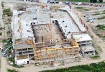 Construcția noii Săli Polivalente la Oradea continuă