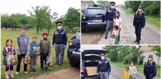 Poliţişti de frontieră, în altfel de misiuni de 1 Iunie, Ziua Internațională a copilului