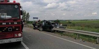 Accident Tarcea