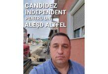 Dan Vancea candidează independent la Primăria Aleșd