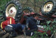 Accident cumplit în Damiș
