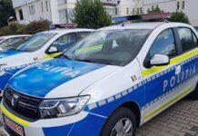 Mașină noua de poliție