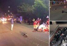 Accident motocicleta Sânmartin