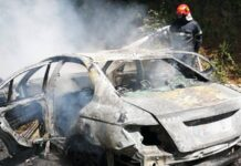 Mașină incendiu Aștileu