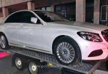 Autoturism marca Mercedes Benz vama Borș