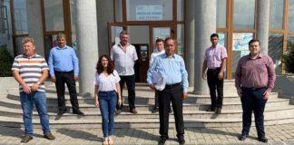 Vasile Banc și echipa PNL Țețchea
