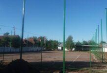 Teren de sport multifunctional la Colegiul Tehnic din Vadu Crisului.